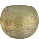 Glass lantern Vila, D12.5cm, H10cm, light green an